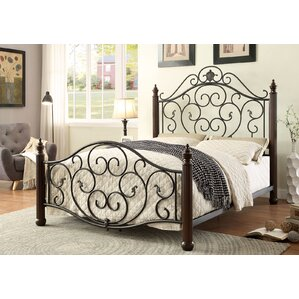 Lucia Metal Bed by A&J Homes Studio