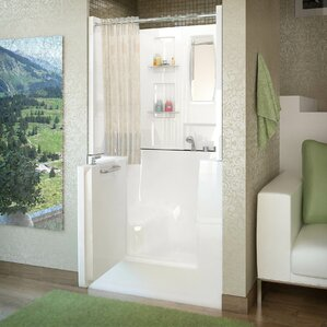 Therapeutic TubsWalk In Tubs You ll Love   Wayfair. Lay Down Walk In Bathtub. Home Design Ideas