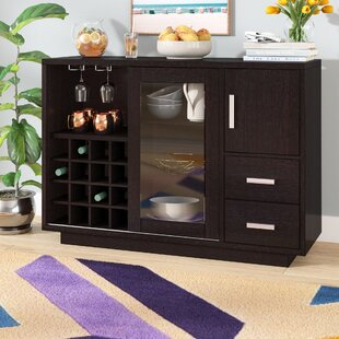 Wine Bottle Storage Equipped Sideboards Buffets You Ll Love In