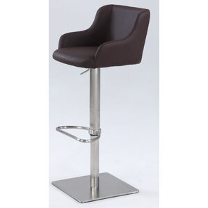 Greysen Adjustable Height Bar Stool by Wade Logan