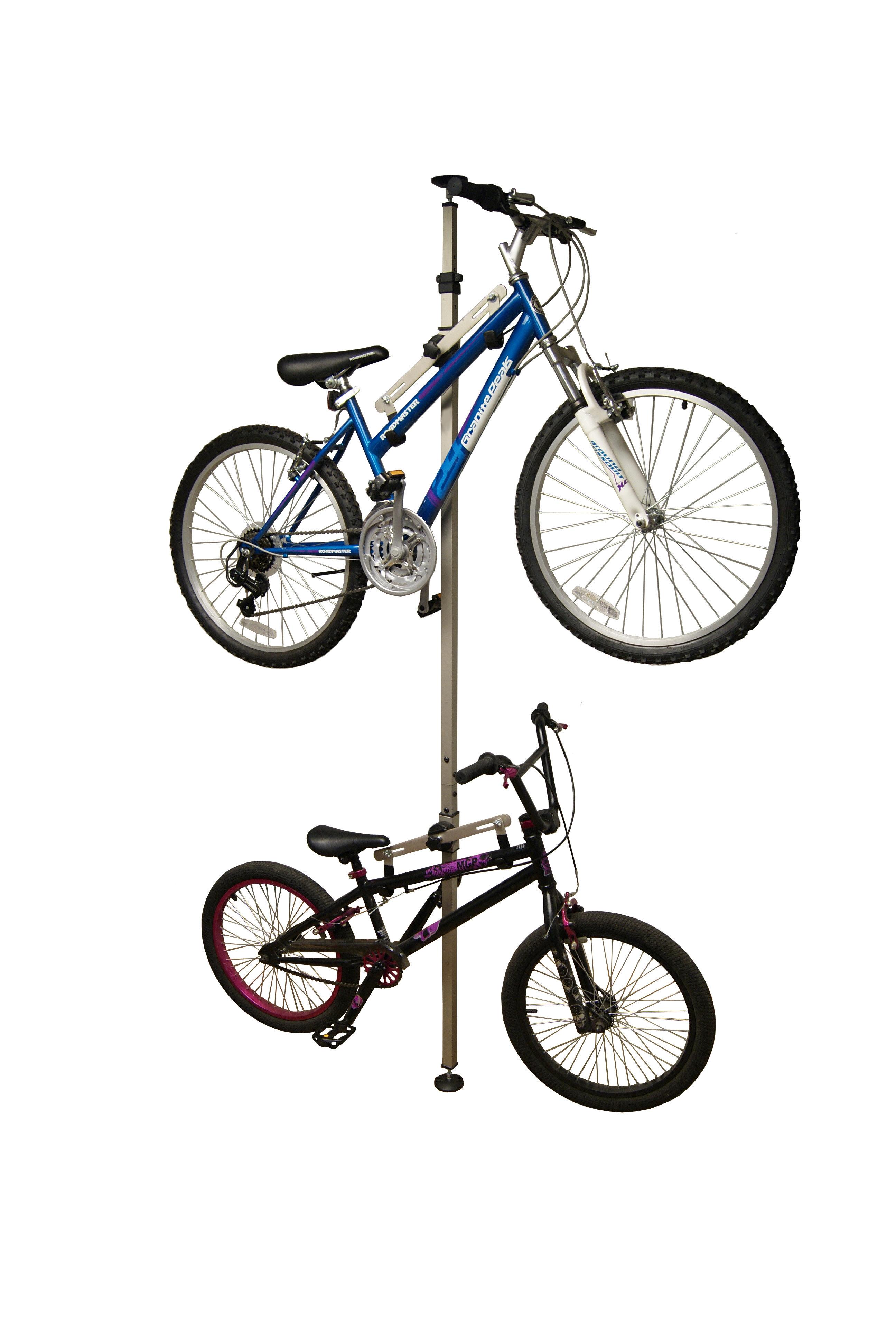 Ceiling Bike Rack >> Wfx Utility Koby 2 Bike Floor To Ceiling Mounted Bike Rack Reviews
