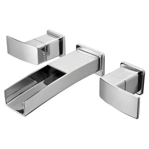 Kenzo Double Handle Wall Mounted Bathroom Faucet Trim