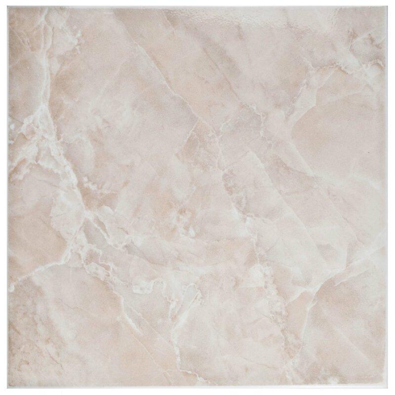 Elitetile Alpha 11 75 Quot X 11 75 Quot Ceramic Field Tile In Pink