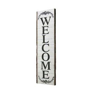 550f91ad4c7bd Vertical Home Sign | Wayfair
