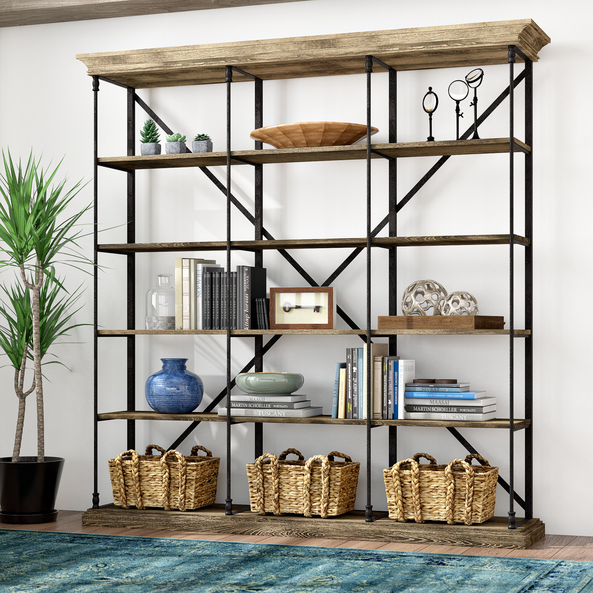 Brilliant Library Bookcases Youll Love In 2019 Wayfair Interior Design Ideas Tzicisoteloinfo