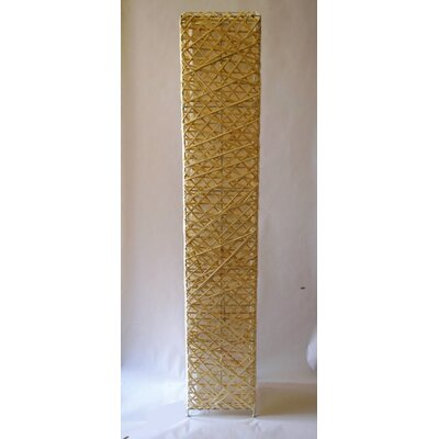 Eangee home design banyan giant 72 column floor lamp reviews rectangle bamboo woven 52 led column floor lamp mozeypictures Gallery