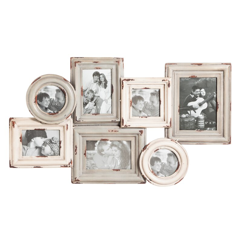 August Grove Multi-Opening Metal Hanging Picture Frame & Reviews ...