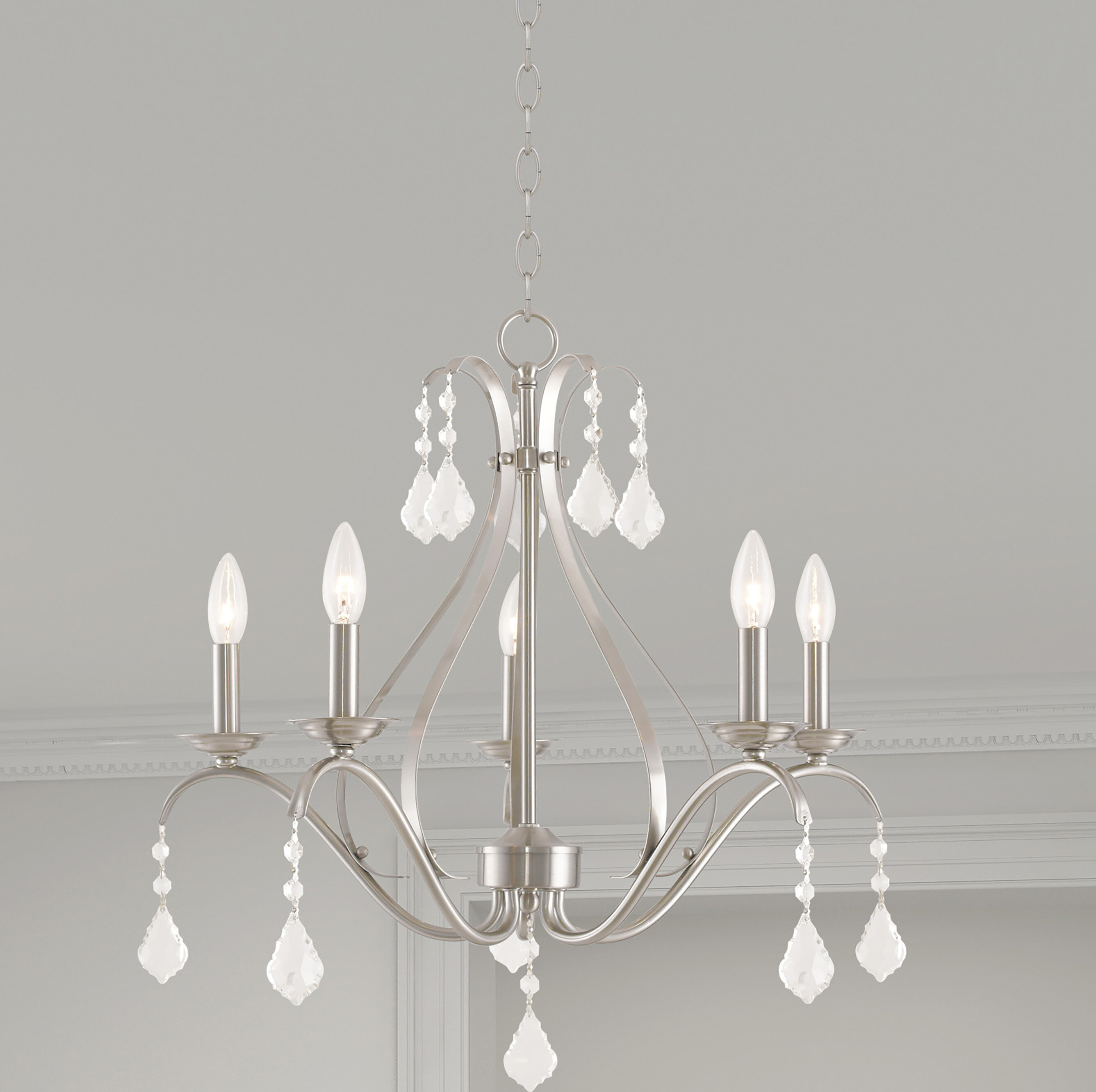 Astoria Grand Aria 5-Light Chandelier & Reviews | Wayfair