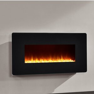 Fulton Wall Mounted Electric Fireplace