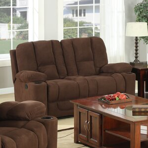 Brampton Reclining Loveseat by Flair