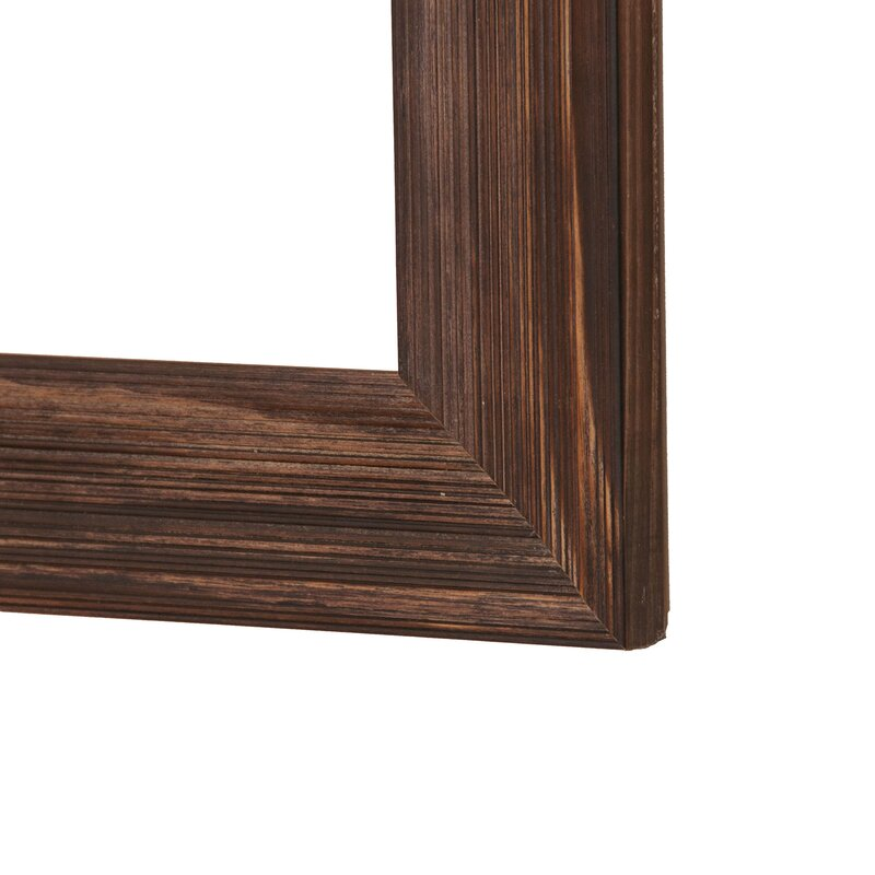 Brandtworksllc Rustic Espresso Wall Mirror Wayfair
