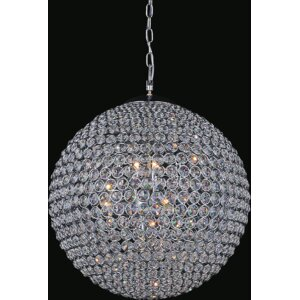 Globe 26-Light Crystal Chandelier