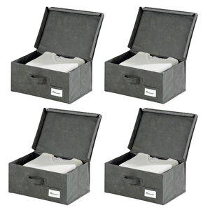 4-tlg. Box Liberta aus Textil von Wenko