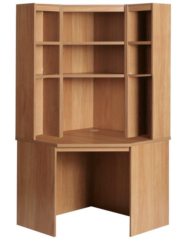 Corner Desk With Hutch Set