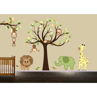 Endres Jungle Animals Wall Decal