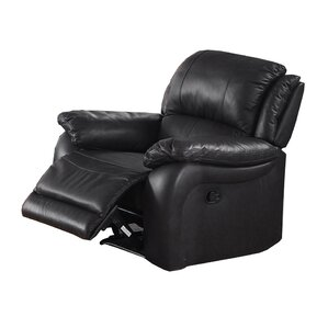 Juan Leather Manual Wall Hugger Recliner  sc 1 st  Wayfair & Wall Hugger Recliners Youu0027ll Love | Wayfair islam-shia.org