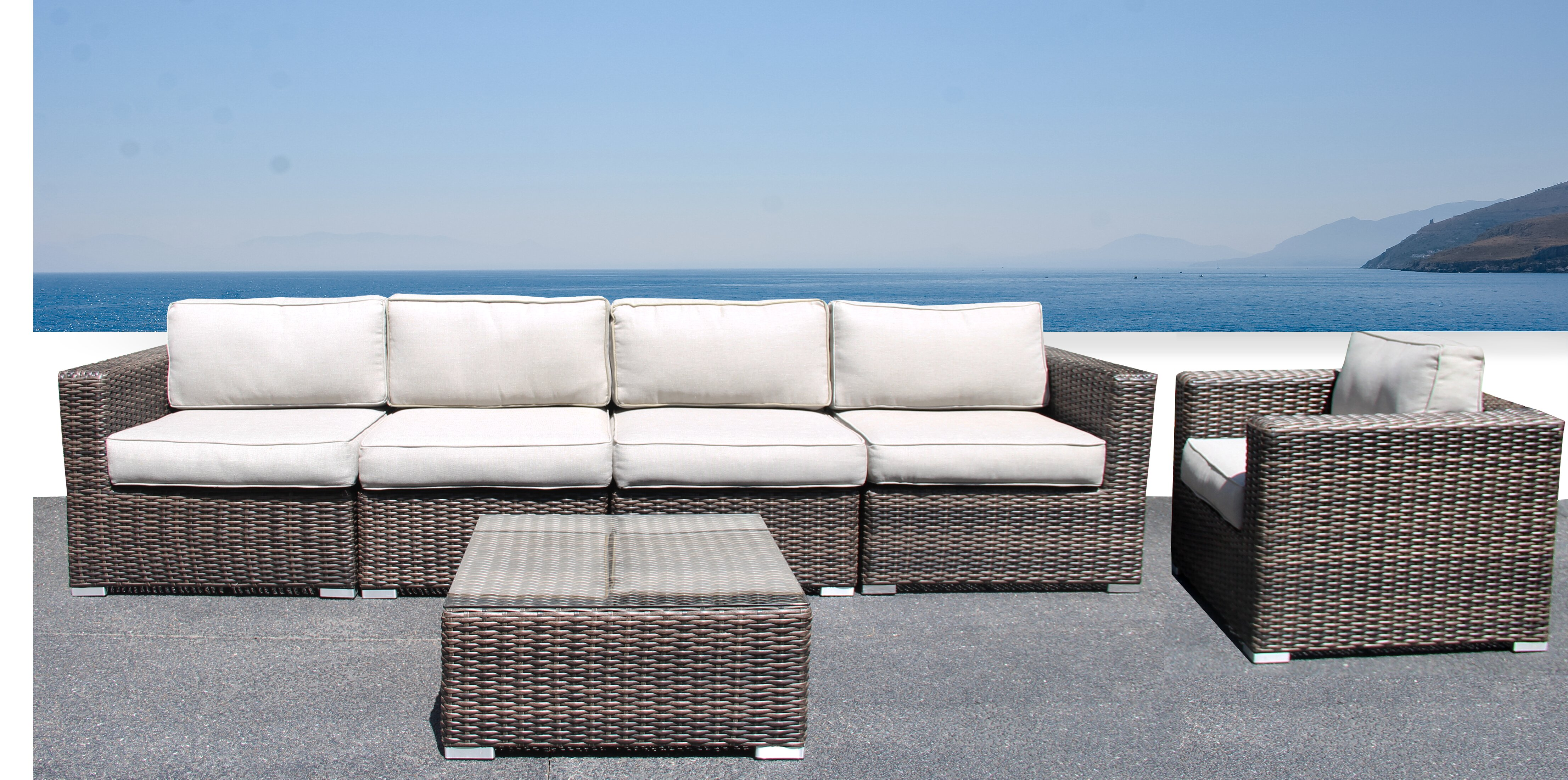 Rosecliff Heights Whitmer Sectional Set With Cushions