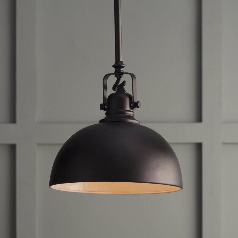 Beachcrest Home Southlake 1-Light Bowl Pendant & Reviews
