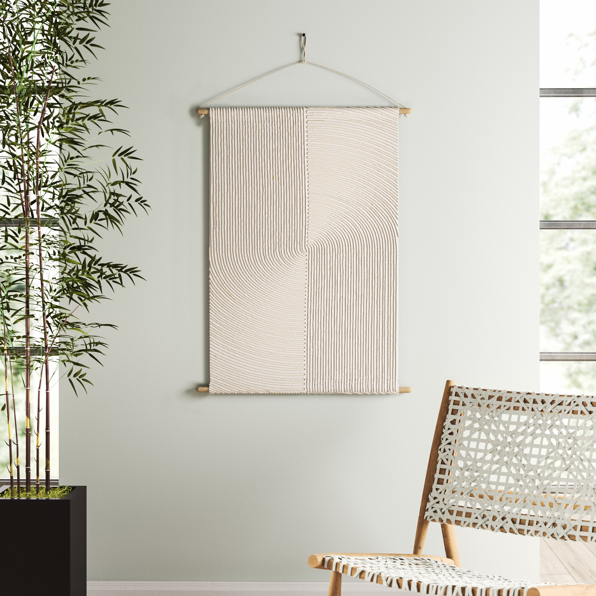 Mistana modern wall hanging reviews wayfair