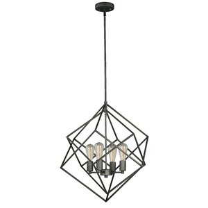 Rad 4-Light Foyer Pendant