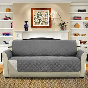Diamond T Cushion Sofa Slipcover