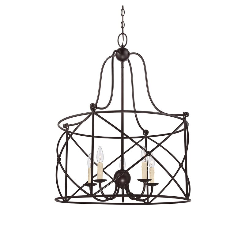 Delia 5 Light Lantern Pendant Reviews