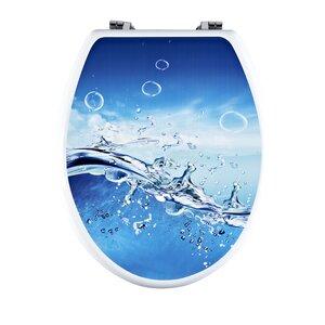 WC-Sitzaufkleber Splash von Mainstream by Aqualona