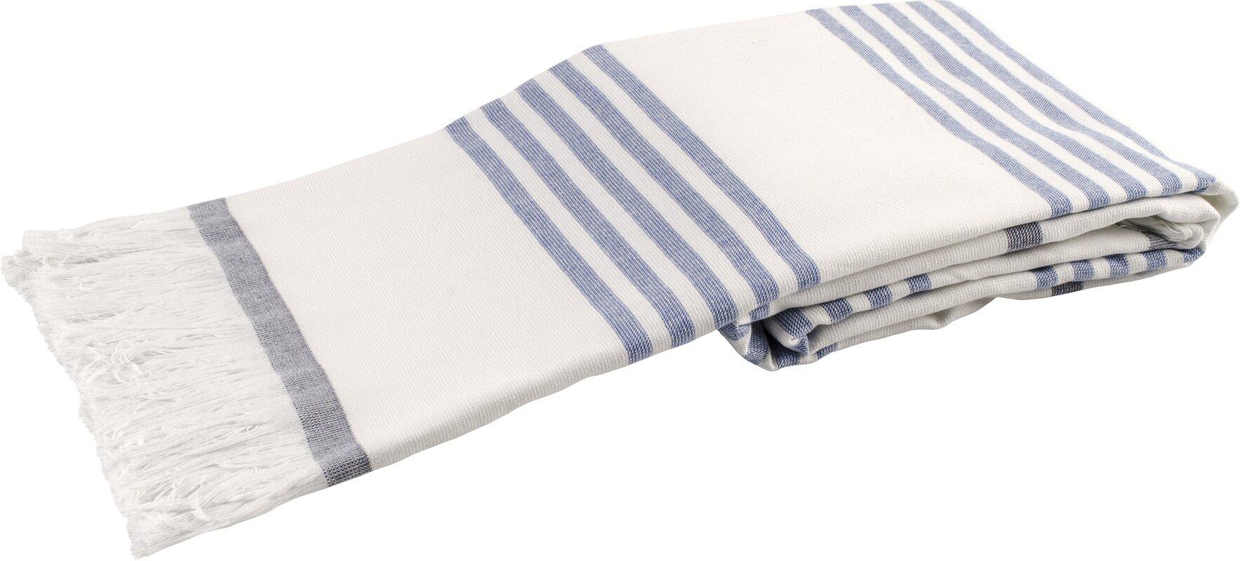 Lunasidus Sultan Luxury Turkish Terry Beach Towel & Reviews | Wayfair