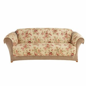 Sure Fit Lexington Box Cushion Loveseat Slipcover Image
