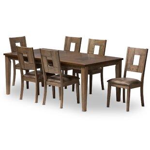 Polak 7 Piece Dining Set