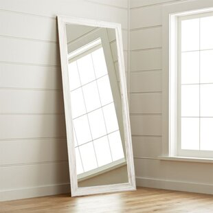 Reclaimed Wood Floor Mirror | Wayfair