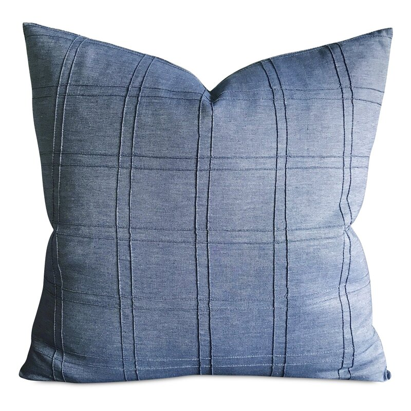 pintuck pillow white ripple listing il gift couch birthday faux cushion en silk in textured