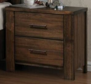 Millwood Pines Lars 2 Drawer Nightstand Wayfair