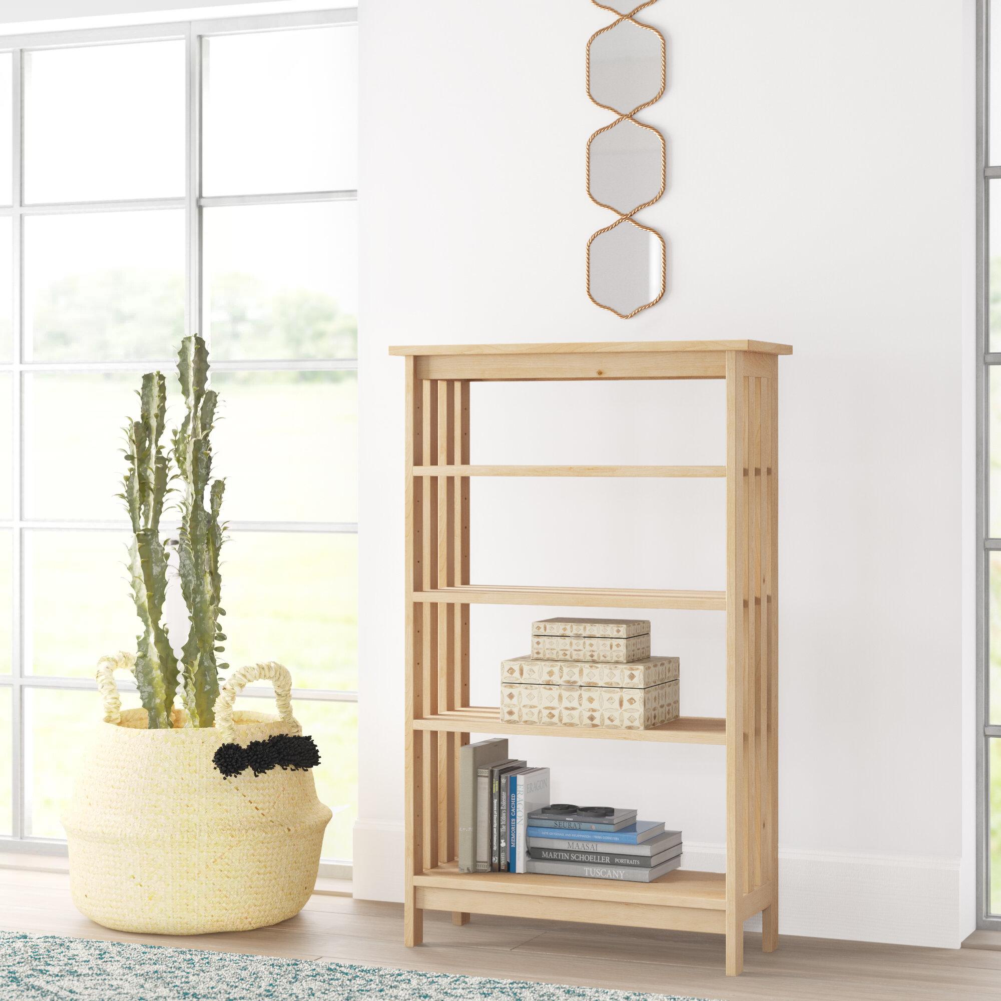 Fine Unfinished Bookcases Youll Love In 2019 Wayfair Interior Design Ideas Tzicisoteloinfo