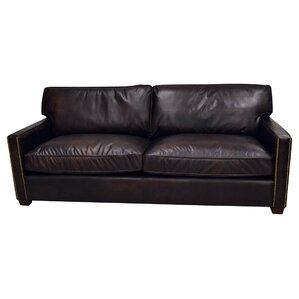Amesbury Leather Sofa by Trent Austin Design