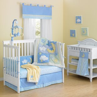 Finch Cotton Quilted 10 Piece Crib Bedding Set