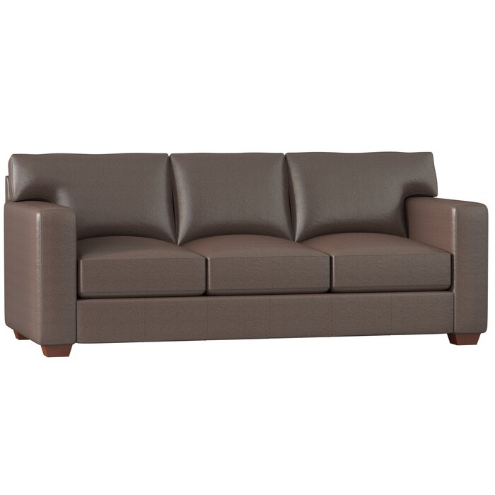 Magnificent Pratt Leather Sofa Home Interior And Landscaping Dextoversignezvosmurscom
