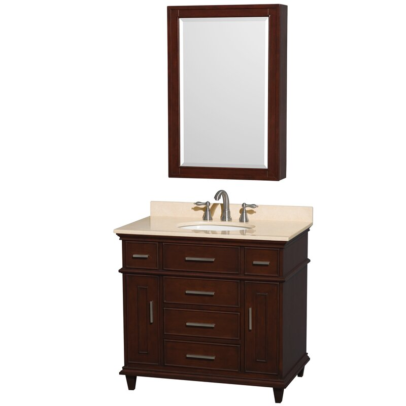 New Bathroom Vanity Set with Medicine Cabinet