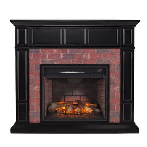 Monrovia Media Infrared Electric Fireplace by Alcott Hill