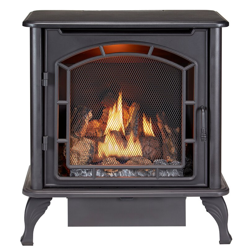 duluth forge 1 100 sq ft vent free gas stove reviews wayfair