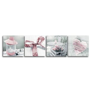 Pink Wall Art On Canvas