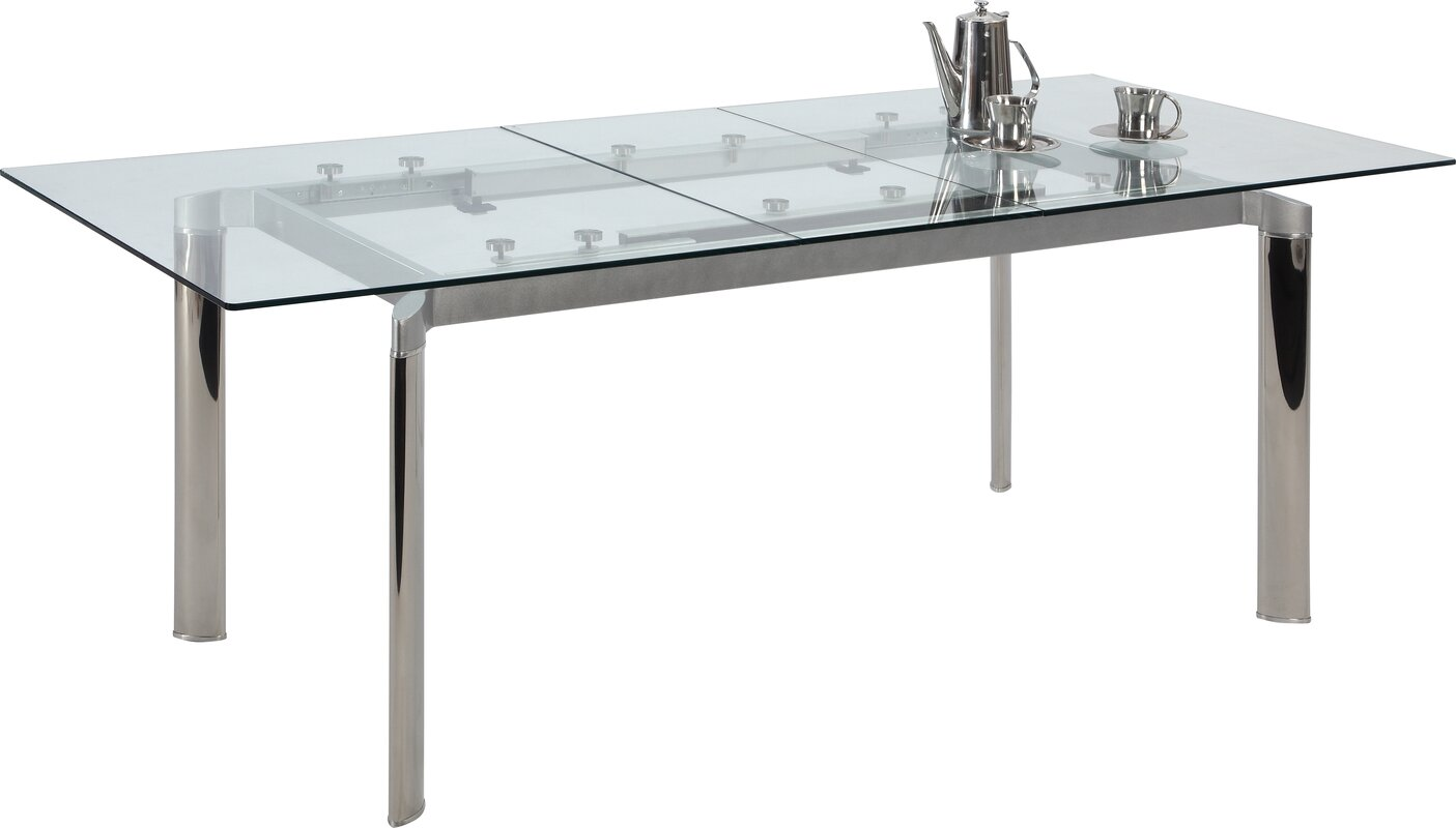 withrow extendable dining table. Interior Design Ideas. Home Design Ideas