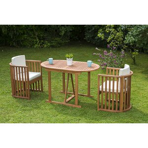 Levin 2 Seater Bistro Set With Cushions
