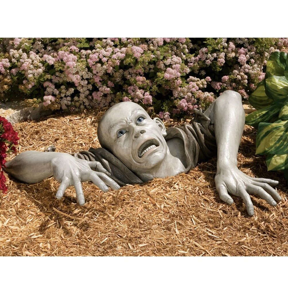 Lucifer Zombie Wedding: Design Toscano The Zombie Of Montclaire Moors Statue