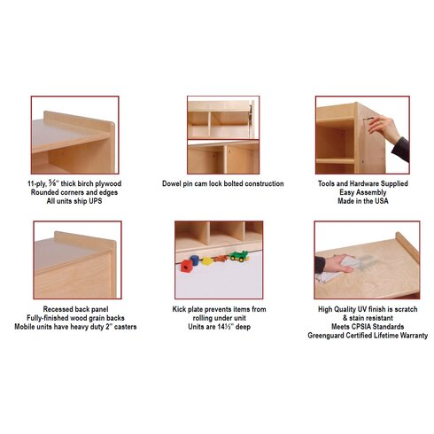 10 Compartment Cubby