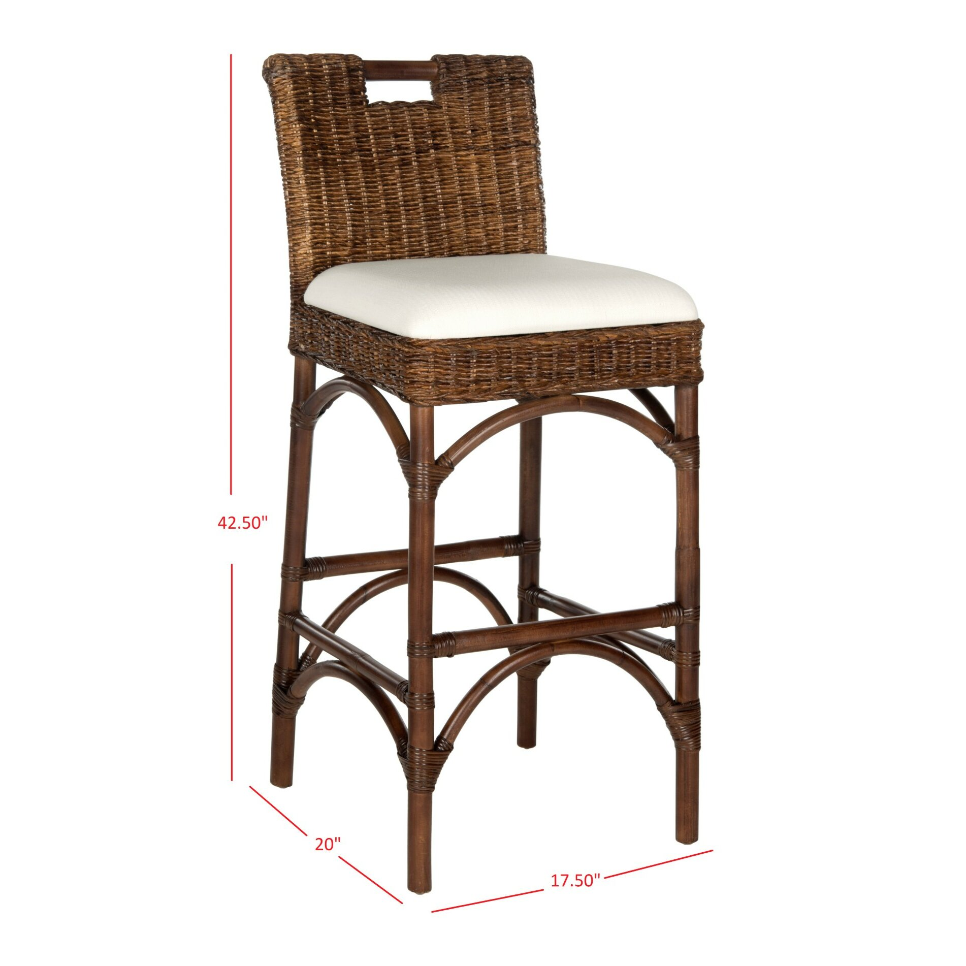 Safavieh 32 Quot Bar Stool Amp Reviews Wayfair