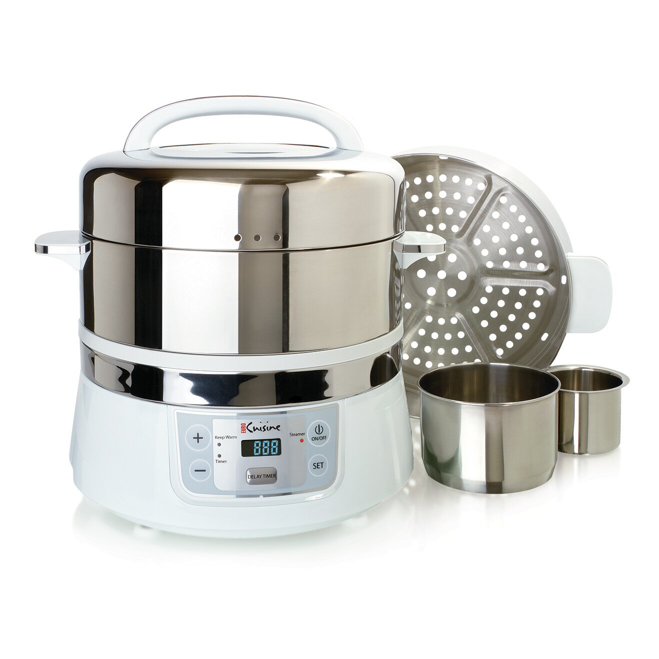 Euro Cuisine Stainless Steel Electric Food Steamer Reviews
