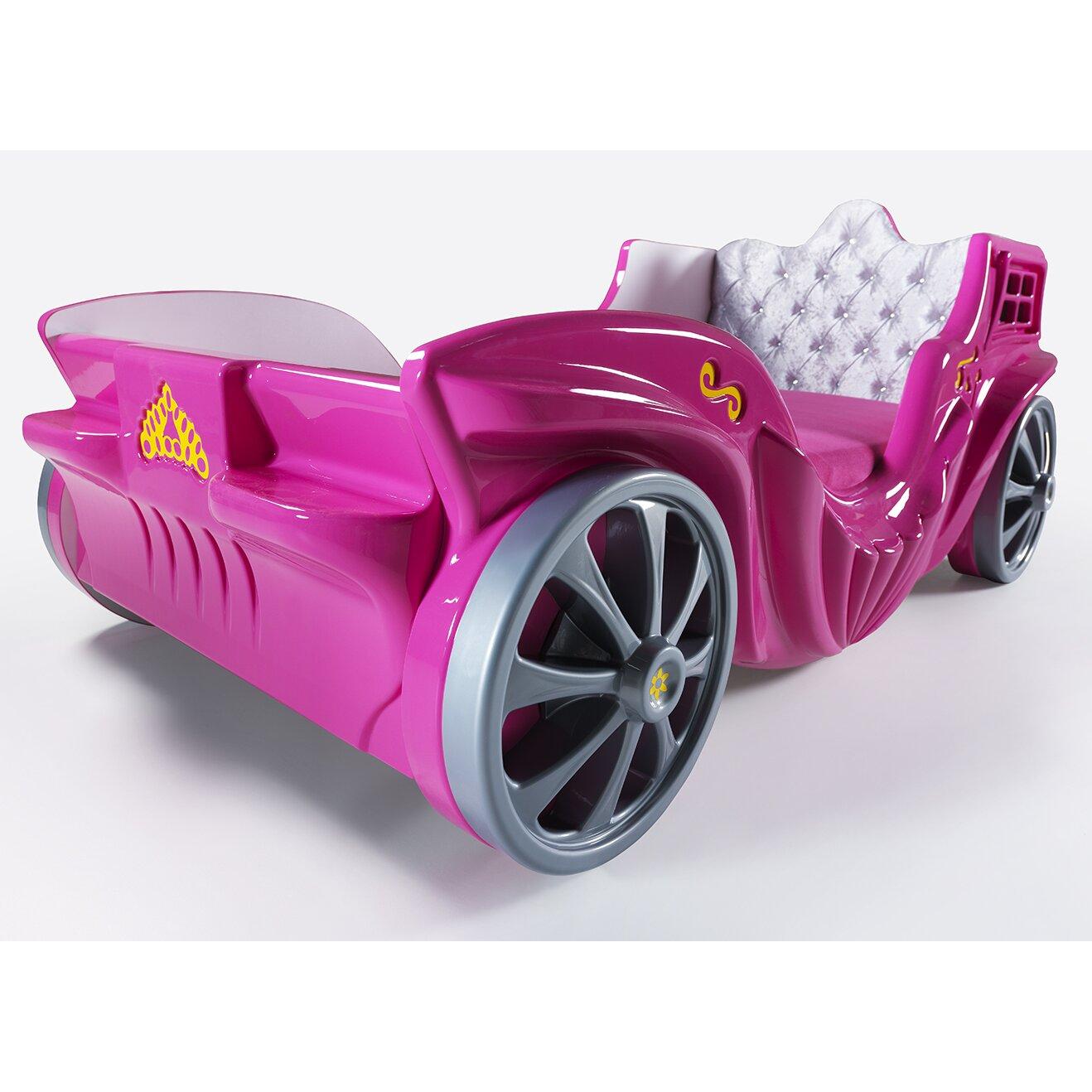 Springtime Wreaths Cloudseller Princess Twin Car Bed Amp Reviews Wayfair