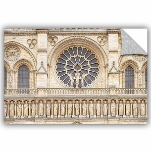 Cora Niele Detail Of The Notre Dame Removable Wall Decal