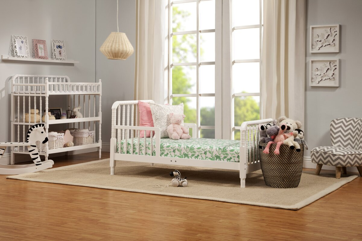 DaVinci Jenny Lind Toddler Slat Bed & Reviews | Wayfair